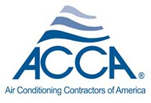 We are Air Conditioning Contractors of America (ACCA) certified